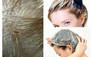 Les poux mourront-ils si vous teignez les cheveux?