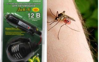 Répulsif anti-moustique dans la voiture