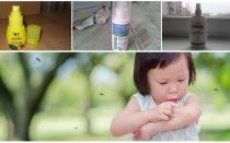 Des moyens efficaces de moustiques pour les enfants de 1 an