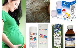 Comment traiter la pédiculose pendant la grossesse et l'allaitement