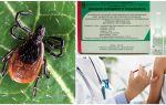 Vaccin contre l'encéphalite à tiques