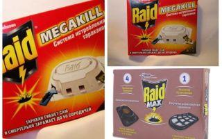 Cockroach Raid: pièges, aérosols, aérosols