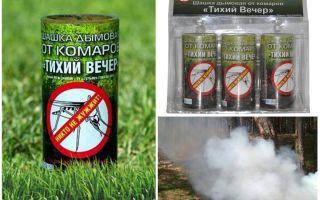 Smoke Bomb Une soirée silencieuse contre les moustiques