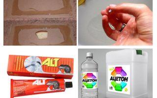 Comment laver la colle de souris