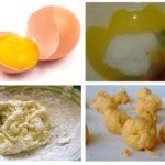Acide borique et jaunes d'œufs