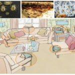 Habitats de punaises dans la maison