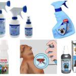 Sprays contre les puces pour chiens