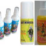 Spray antimites