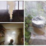 L'utilisation de bombes fumigènes