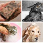 Bain de savon au goudron