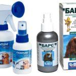 Sprays contre les puces chez les chiens
