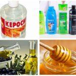 Préparation des produits contre les poux