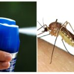 Spray anti-moustique