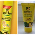 Crème et aérosol de Gardex