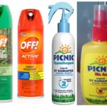 Sprays d'insectes populaires