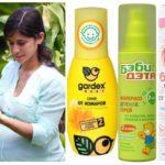 Sprays pendant la grossesse