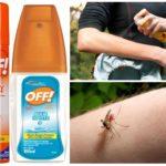 Spray et Spray Off moustique