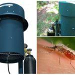 L'utilisation de l'appareil contre les moustiques