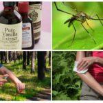 Anti-moustiques à la vanilline