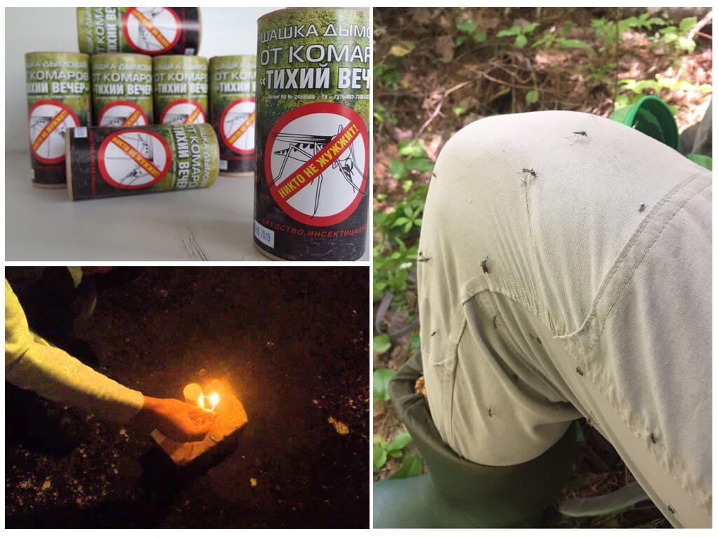 Smoke Bomb pour la protection contre les insectes volants