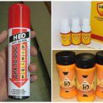 Préparations chimiques d'abeilles broyées