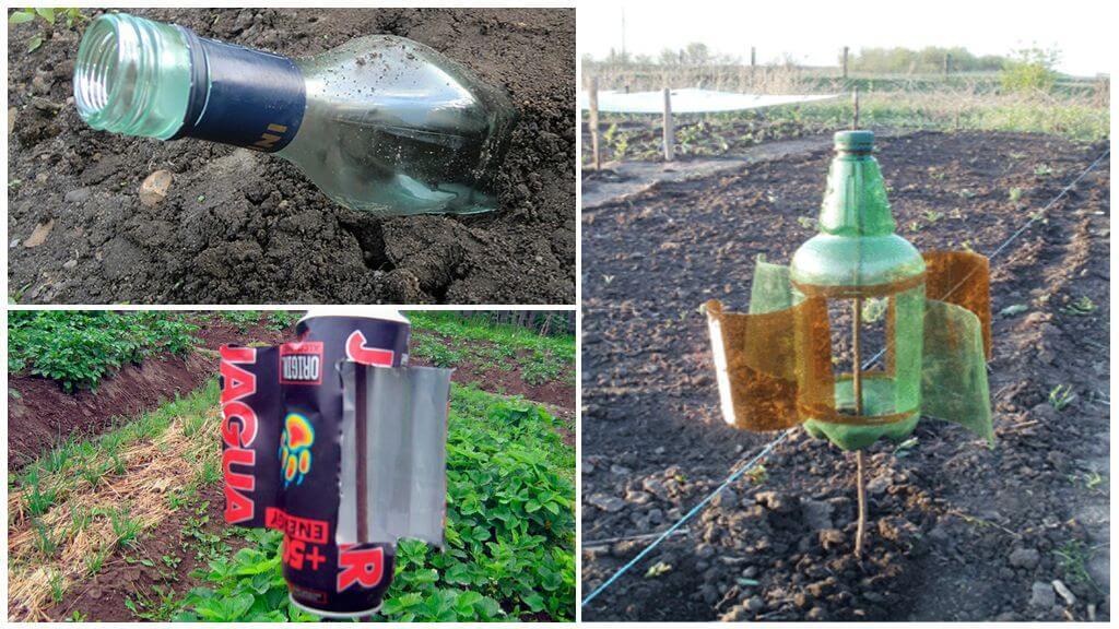 Dispositifs acoustiques pour effacer les taupes du jardin