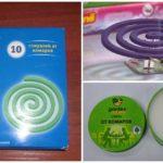 Spirales et bougies anti-moustiques