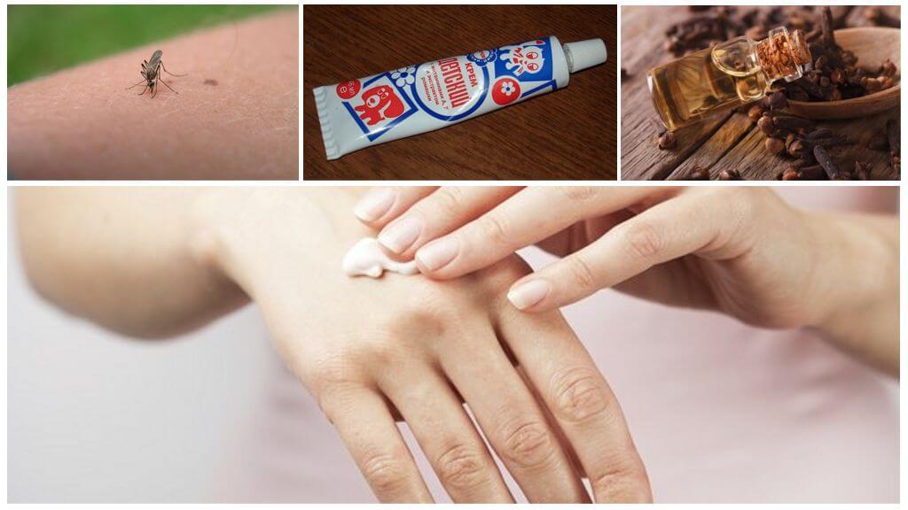 Crème anti-moustique à l'huile essentielle de girofle