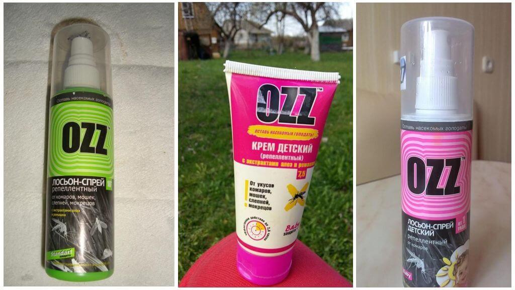 Répulsif anti-moustique OZZ