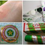 Traitement de piqûre de moustique