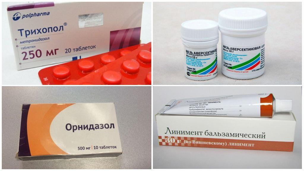 Médicaments contre les acariens