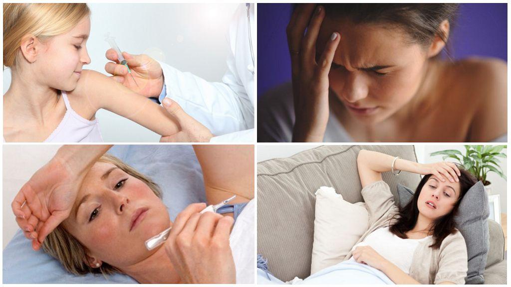 Effets secondaires de la vaccination
