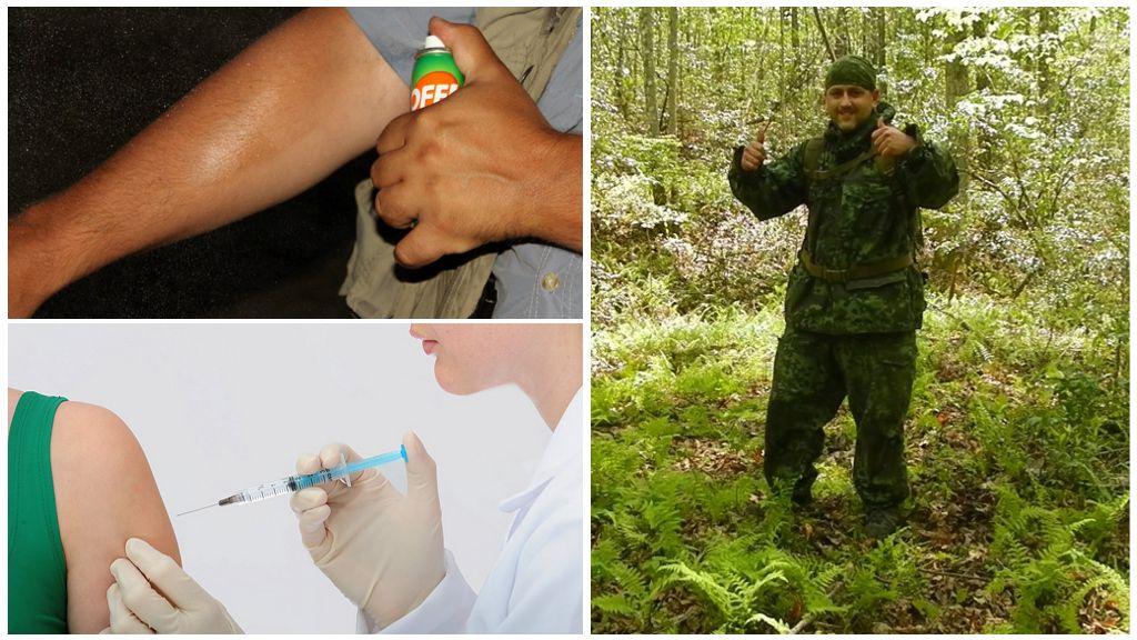 Prévention des morsures de tiques