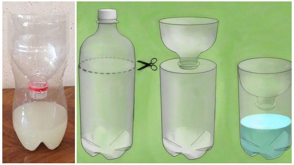 Siphon en plastique