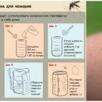 Un piège pour les moustiques avec leurs propres mains