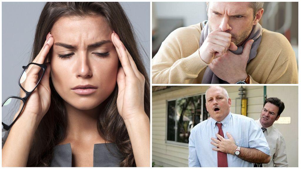 Symptômes de la localisation des lamblia dans le système respiratoire