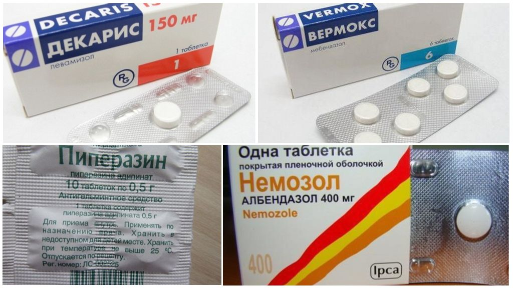 Préparations pour le traitement de l'ascaridiase