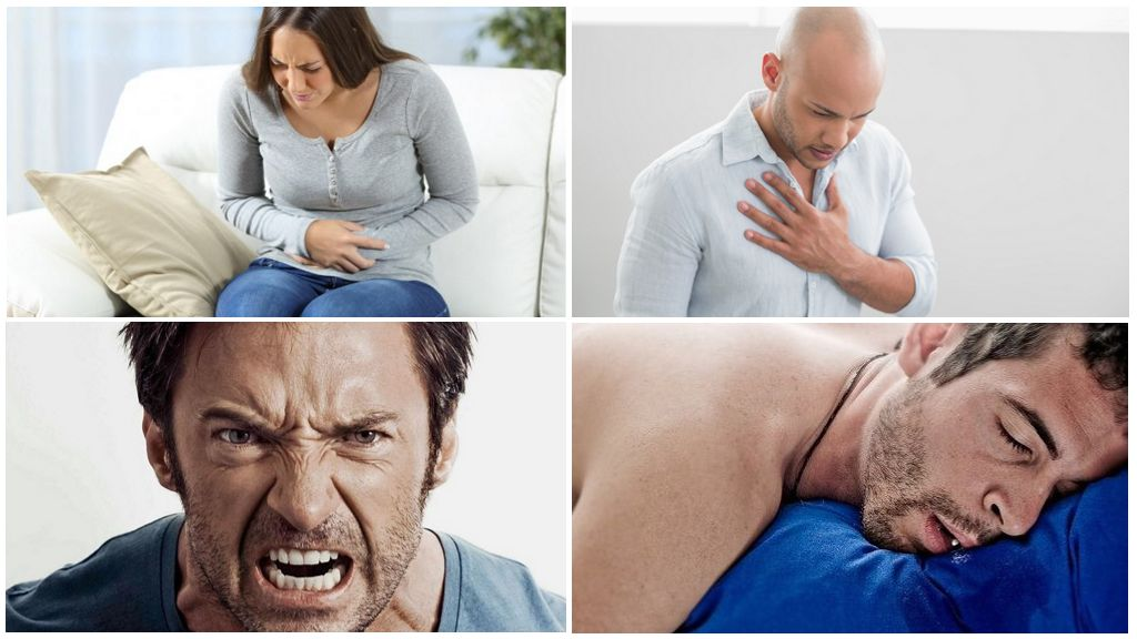 Symptômes de la présence humaine